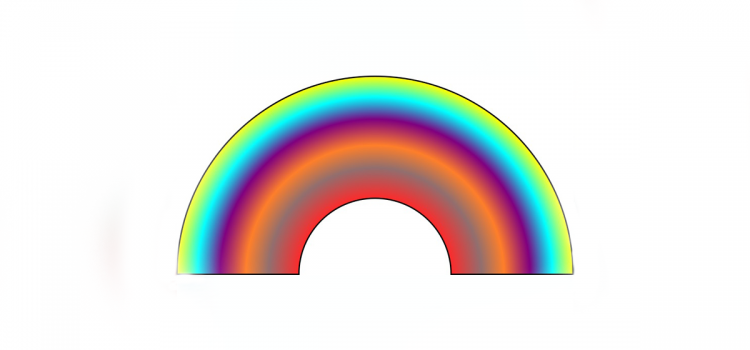 Learn how to create a 2D digital rainbow using free, open source software