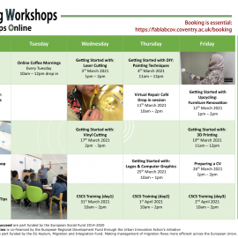 March Workshops Live