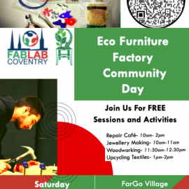 Launching our Eco Furniture Factory